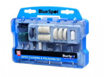 BlueSpot 20 PCE Rotary Tool Cleaning and Polishing Set