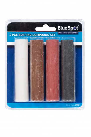 BlueSpot 4 PCE Buffing Compound Set