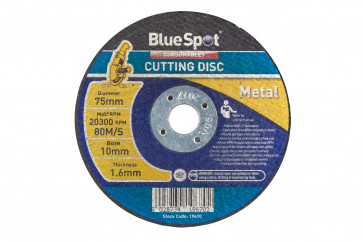 "BlueSpot 75mm (3"") Metal Cutting Disc"