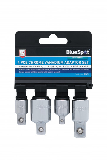BlueSpot 4 PCE Adaptor Set