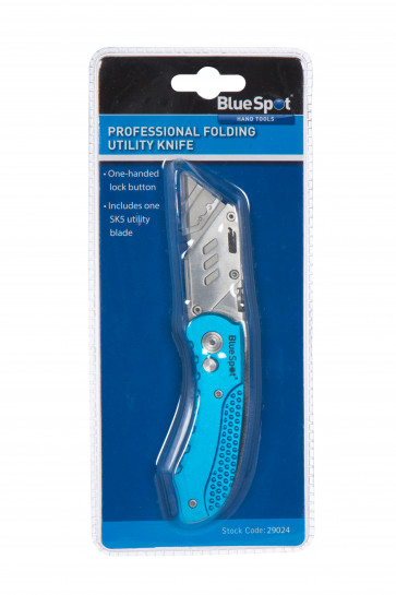 BlueSpot Professional Folding Utility Knife