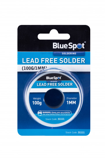 BlueSpot Lead Free Solder (100g/1mm)
