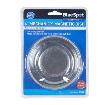 """BlueSpot 100mm (4"""") Stainless Steel Magnetic Dish"""