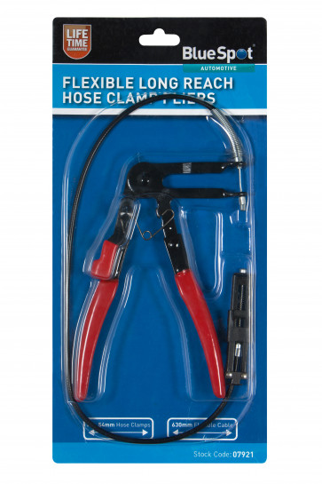 BlueSpot Flexible Long Reach Hose Clamp Pliers