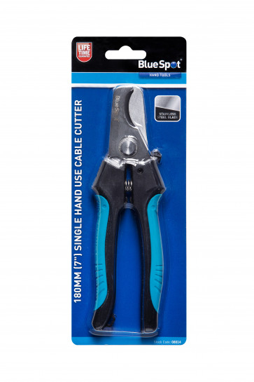 """BlueSpot 180mm (7"""") Single Hand Use Cable Cutter"""