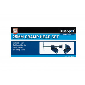 BlueSpot 25mm Cramp Head Set