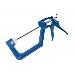 "BlueSpot One Handed 150mm (6"") Ratchet Clamp"