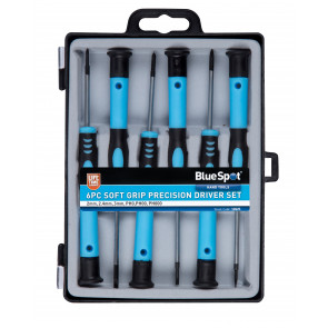 BlueSpot 6 Pce Precision Screwdriver Set