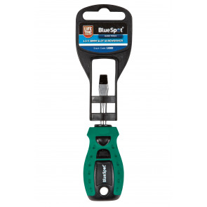 BlueSpot 6.5 x 38mm Slotted Screwdriver