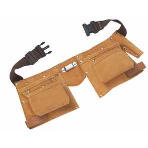 BlueSpot Leather Double Tool Belt