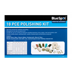 BlueSpot 18 PCE Polishing Kit