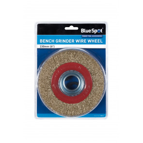 "BlueSpot 150mm (6"") Bench Grinder Wire Wheel"
