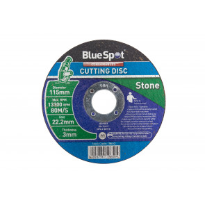 "BlueSpot 115mm (4.5"") Stone Cutting Disc"