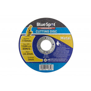"BlueSpot 115mm (4.5"") Metal Cutting Disc"