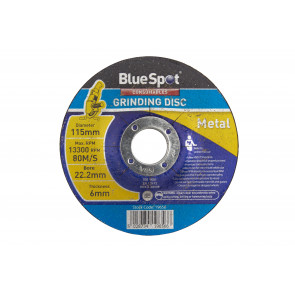 "BlueSpot 115mm (4.5"") Metal Grinding Disc"