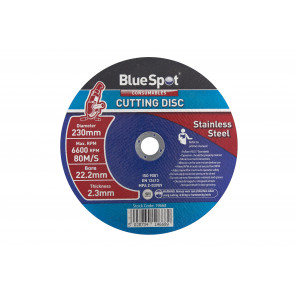 "BlueSpot 230mm (9"") Stainless Steel Cutting Disc"