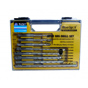 BlueSpot 8 PCE SDS Plus Drill Bit Set (5-12mm)