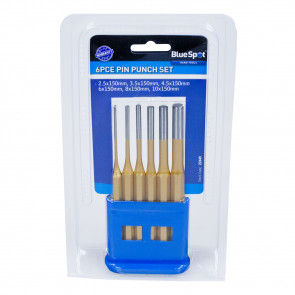 BlueSpot 6 PCE Gold Pin Punch Set