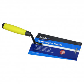 "BlueSpot 180mm (7"") Soft Grip Bucket Trowel"
