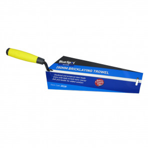 "BlueSpot 280mm (11"") Soft Grip Brick Trowel"