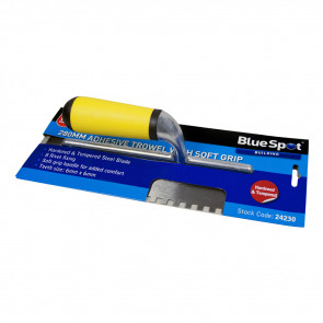 "BlueSpot 280mm (11"") Soft Grip Adhesive Trowel"
