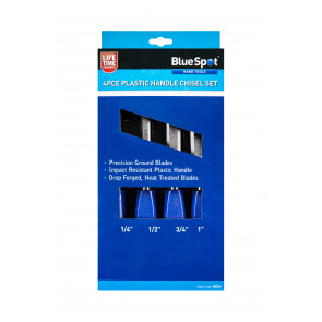 BlueSpot 4 PCE Wood Chisel Set