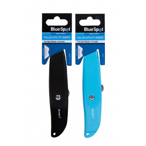 BlueSpot Value Utility Knife