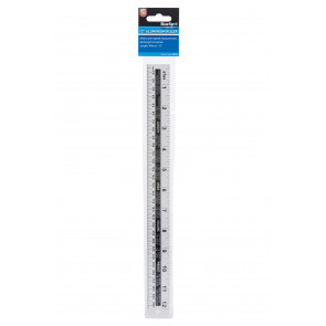 "BlueSpot 300mm (12"") Aluminium Ruler"