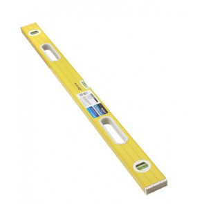 "BlueSpot 1.20m (48"") Ribbed 3 Vial Spirit Level"