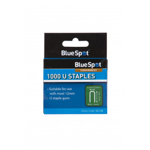 BlueSpot 1000 PCE 12mm U-Staples