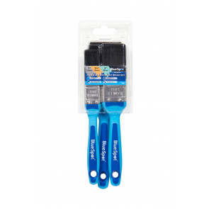 """BlueSpot 3 PCE Synthetic Paint Brush Set with Soft Grip Handle (1"""", 1 ½"""" and 2"""")"""