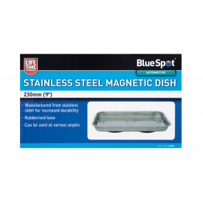 "BlueSpot 230mm (9"") Stainless Steel Magnetic Dish"