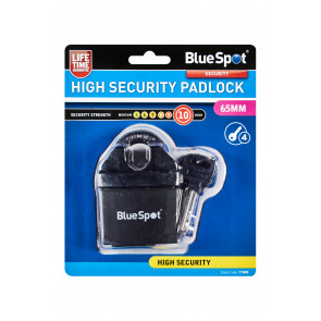 BlueSpot 65mm High Security Padlock