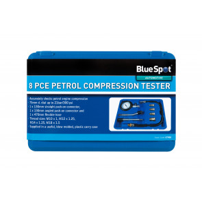 BlueSpot 8PCE Petrol Compression Tester