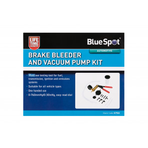BlueSpot Brake Bleeder and Vacuum Pump Kit
