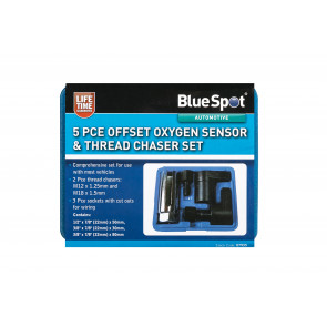 BlueSpot 5PCE Oxygen Sensor & Thread Chaser Set