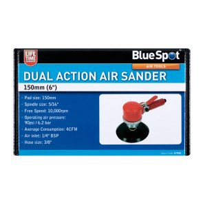 "BlueSpot 150mm (6"") Dual Action Air Sander"