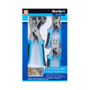 BlueSpot 3 PCE Punch And Eyelet Plier Set
