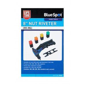 "BlueSpot 8"" Nut Riveter (M3-M6)"